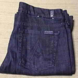 7 FOR ALL MANKIND BOOT JEANS STRETCH VERY CONFY